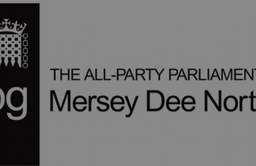 All-Party Parliamentary Group to fight for the residents, businesses and interests of North Wales and the Mersey Dee is reinstated